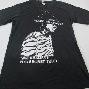 Retro Wiz Khalifa's Big Secret Tour Graphic Tee